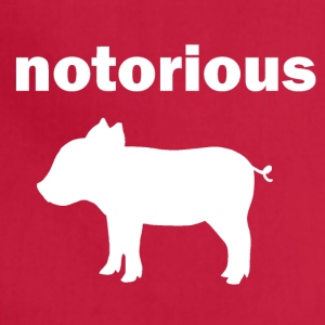 notorious pig - Adjustable Apron