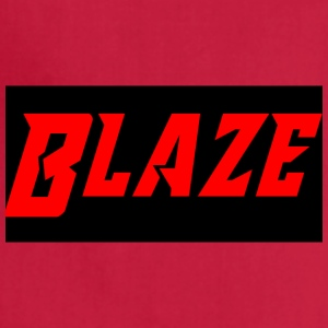 Blaze logo name - Adjustable Apron