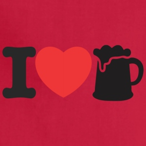 LOVE BEER - Adjustable Apron