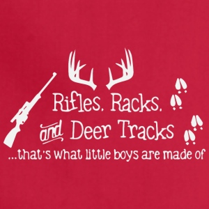 Rifles Racks and Deer tracks - Adjustable Apron