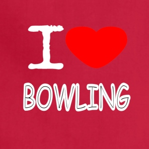 I LOVE BOWLING - Adjustable Apron