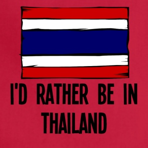 I'd Rather Be In Thailand - Adjustable Apron