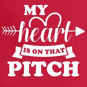My heart is on that pitch - Adjustable Apron