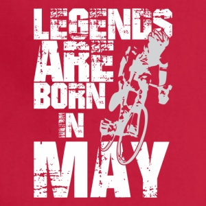 Legends Are Born In May Cycling - Adjustable Apron