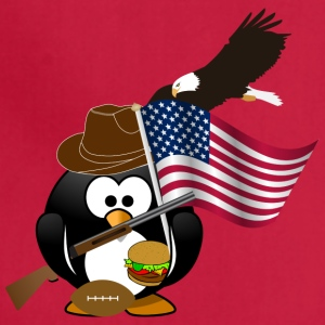 Patriot Penguin USA Flag - Adjustable Apron