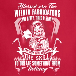 Welder Blessed Are The Welder - Adjustable Apron