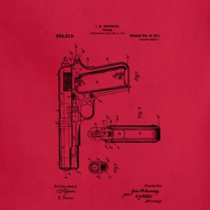 Colt Firearm Patent - Adjustable Apron