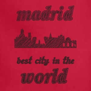 mADRID Best city in the world - Adjustable Apron