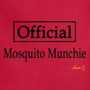 0127 Official Mosquito Munchie - Adjustable Apron