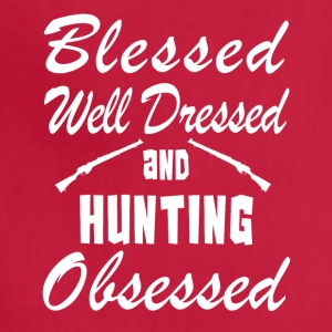Hunting Love Shirt/Hoodie- Blessed & Obsessed-Gift - Adjustable Apron