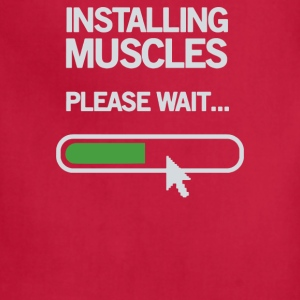 Installing Muscles Please Wait - Adjustable Apron