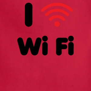 I Heart Wi Fi - Adjustable Apron