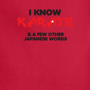 I Know Karate - Adjustable Apron