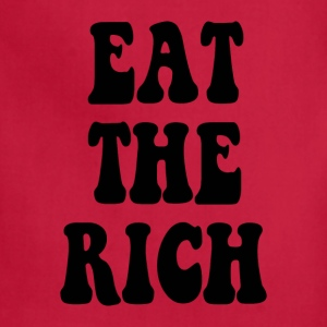 Eat the Rich Occupy Wall Street - Adjustable Apron