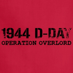 1944 D-Day Operation Overlord (Black) - Adjustable Apron