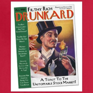 Filthy Rich Drunkard - Adjustable Apron