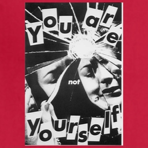 YOU r not YOURSELF - Adjustable Apron
