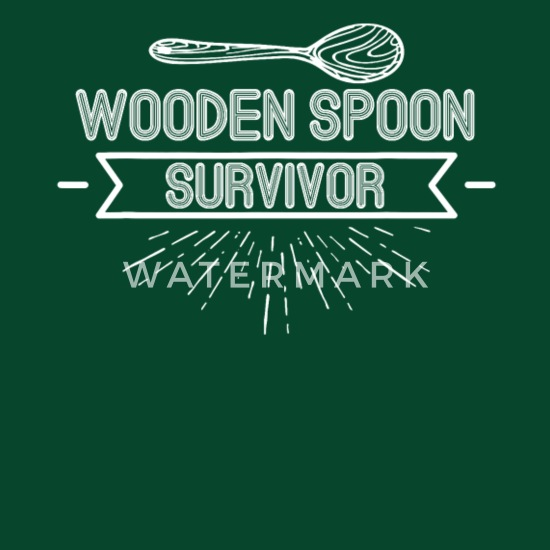 Wooden Spoon Survivor Funny Prank Hilarious Game Apron Spreadshirt