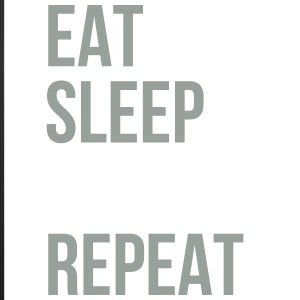 Eat Sleep Hockey Repeat - iPhone 7 Plus Rubber Case