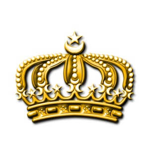 Gold crown - iPhone 7 Plus Rubber Case
