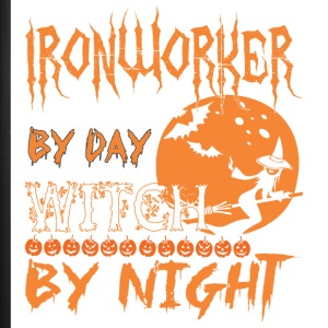 Ironworker By Day Witch By Night Halloween - iPhone 7 Plus Rubber Case