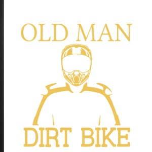 Old Man With A Dirt Bike T Shirt - iPhone 7 Plus Rubber Case