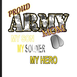 Proud Army Mom - iPhone 7 Plus Rubber Case