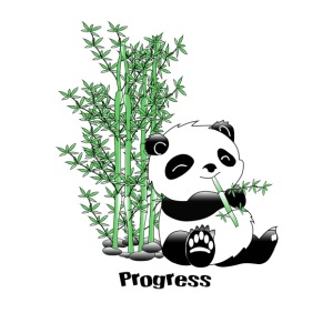 Progress Panda - iPhone 7 Plus/8 Plus Rubber Case