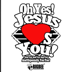 Oh Yes Jesus Loves You - iPhone 7 Plus Rubber Case