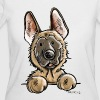 Happy Malinois - Dog - Dogs - Cartoon - Gift - Women's 50/50 T-Shirt