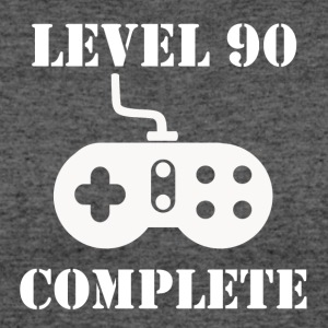Level 90 Complete 90th Birthday - Women's 50/50 T-Shirt