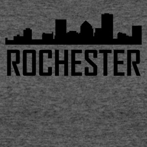 Rochester New York City Skyline - Women's 50/50 T-Shirt