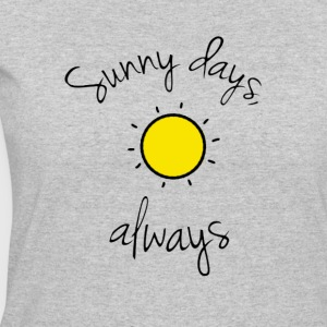'Sunny Days, Always' Collection - Women's 50/50 T-Shirt