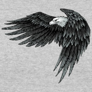 Eagle predatory bird fly shape tatoo wildlife cool - Women's 50/50 T-Shirt