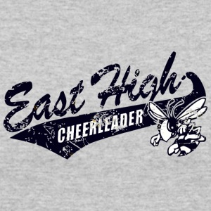 East High CHEERLEADER - Women's 50/50 T-Shirt