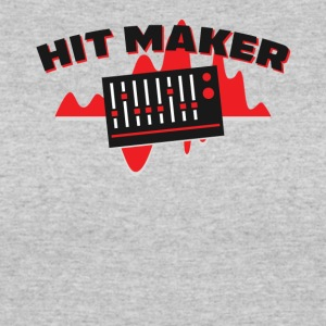 Hit Maker Producer Mixing Board Volume Sound Waves - Women's 50/50 T-Shirt