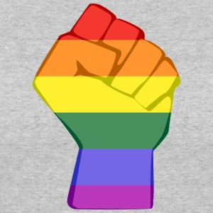 LGBT FIST - Women's 50/50 T-Shirt