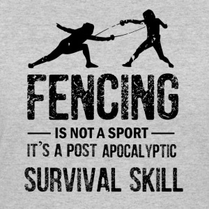 Funny Fencing - Women's 50/50 T-Shirt