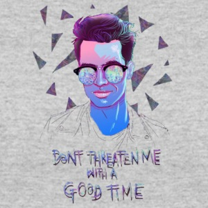 DONT THREATEN ME WITH A GOOD TIME - Women's 50/50 T-Shirt