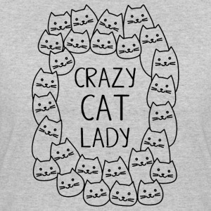 Crazy Cat Lady - Women's 50/50 T-Shirt
