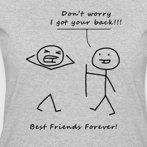 Don't worry BFF Black - Women's 50/50 T-Shirt