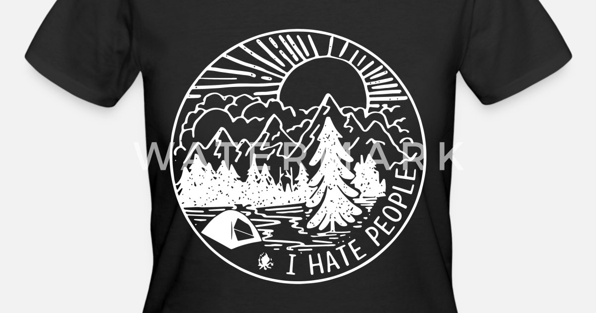 0cd072961 I hate people camp t shirts Women's 50/50 T-Shirt | Spreadshirt