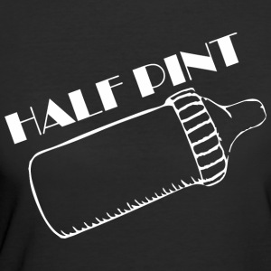 Half Pint Happy Fathers Day - Women's 50/50 T-Shirt