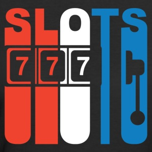Red White And Blue Slots Slot Machine - Women's 50/50 T-Shirt