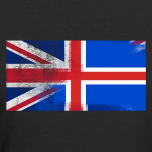 British Icelander Half Iceland Half UK Flag - Women's 50/50 T-Shirt