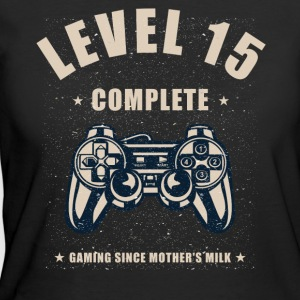 Level 15 Complete Video Gaming T Shirt - Women's 50/50 T-Shirt