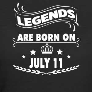 Legends are born on July 11 - Women's 50/50 T-Shirt