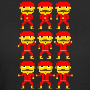 Dance of the pixel men - Women's 50/50 T-Shirt