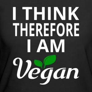 I Think Therefore I Am Vegan - Women's 50/50 T-Shirt