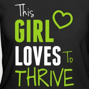 This Girl Loves To Thrive Shirt - Women's 50/50 T-Shirt
